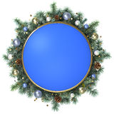 Christmas frame. Stock Photography