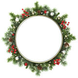Christmas frame. Royalty Free Stock Photo
