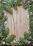 Christmas frame. Stock Photos