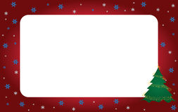 Christmas frame. Decorative Christmas background. Christmas Frame Stock Photos