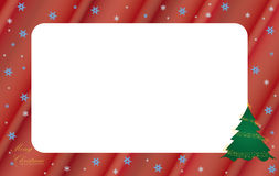 Christmas frame. Decorative Christmas background. Christmas Frame Royalty Free Stock Photos