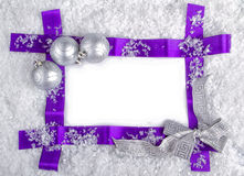 Free Christmas Frame Royalty Free Stock Image - 27854226
