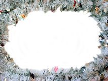 Christmas frame. With white space for text Royalty Free Stock Image