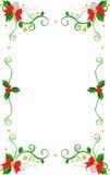 Christmas frame. Beautiful christmas frame,vector illustration Royalty Free Stock Photo