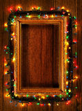 Christmas frame background Royalty Free Stock Photos