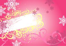 Christmas frame & background Stock Photos