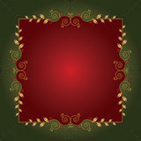Christmas frame or background Stock Photo