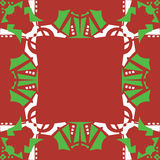 Christmas Frame Background Stock Photography