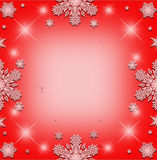 Christmas frame background. Royalty Free Stock Images