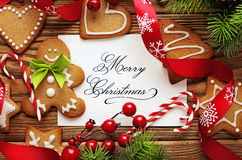 Christmas frame background Royalty Free Stock Photo