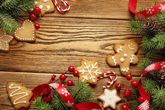 Christmas frame background Royalty Free Stock Images