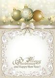 Christmas frame Royalty Free Stock Photos