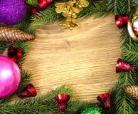 Christmas  frame Stock Photos