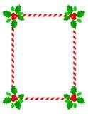 Christmas frame / border royalty free stock image