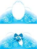 Christmas frame and border Royalty Free Stock Image