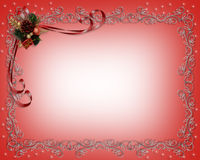 Christmas  frame or border Royalty Free Stock Photos