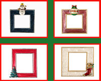 Christmas Frame or Border Stock Photography
