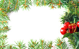 Christmas frame Royalty Free Stock Photo