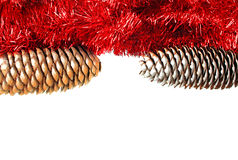 Christmas frame card Stock Photo