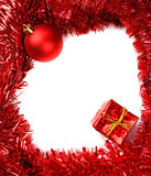 Christmas frame card Royalty Free Stock Images