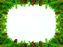 Christmas frame for congratulations Royalty Free Stock Photos