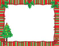 Christmas frame Royalty Free Stock Image