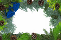 Christmas frame/ decoration Royalty Free Stock Photo