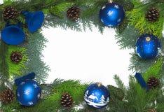 Christmas frame/ decoration Royalty Free Stock Photos