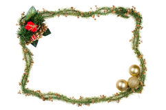 Christmas frame decoration Stock Image