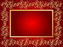 Christmas Frame Design Stock Photo