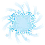 Christmas frame, elements for design, vector Stock Photo