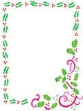 Christmas Frame i Stock Images