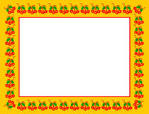 Christmas frame illustration Stock Image