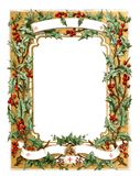 Christmas frame. illustration Stock Photos