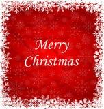 Christmas Frame Made of Snowflakes. Illustration Christmas Frame Made of Snowflakes - vector Royalty Free Stock Photo