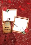 Christmas Frame No1 Royalty Free Stock Photos