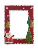 christmas frame picture στοκ φωτογραφία
