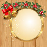 Christmas frame Stock Images