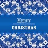 Christmas frame vector Royalty Free Stock Photography