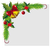 Christmas Frame Stock Photo