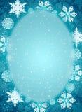 Christmas frame Stock Images