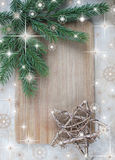 Christmas frame Stock Photography