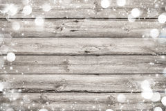 Christmas frame on wooden background Royalty Free Stock Image