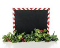 Christmas Framed Blackboard Stock Photo