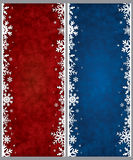Christmas frames Royalty Free Stock Photography