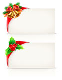 Christmas frames Stock Photos
