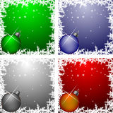 Christmas Frames Collection Royalty Free Stock Photo