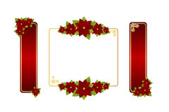 Christmas frames Royalty Free Stock Images