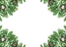 Christmas framework Royalty Free Stock Photo