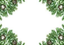 Christmas framework Royalty Free Stock Photo